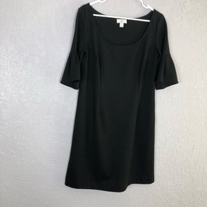 Loft dress ruffle sleeve size 10